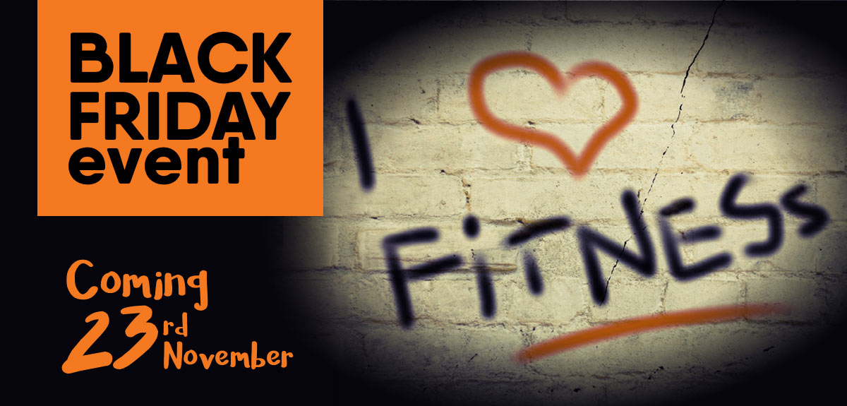 Black Friday Event at Low Cost Local Gym Coming Soon
