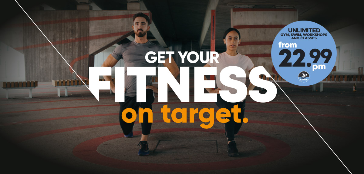 Get Your Fitness on Target Gym and Swim