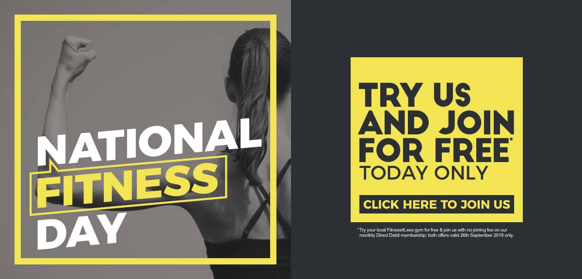 National Fitness Day Join Local Gym for Free