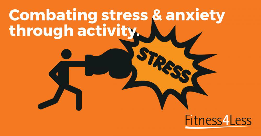 Kick stress into touch!