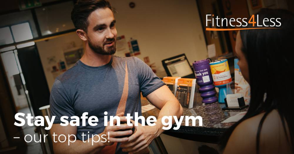Top Tips For Staying Safe In The Gym