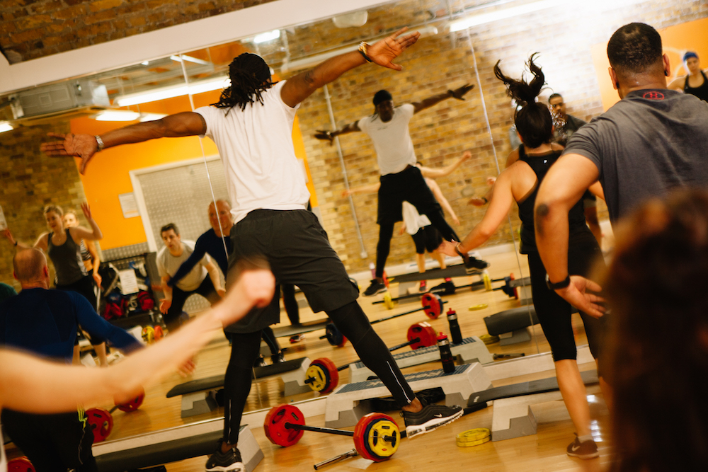 "Popular Myth 1 : Fitness Classes Are ""Only Girls Allowed"""