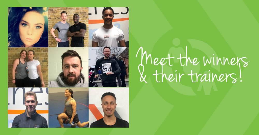 Our REVITALISE Free Personal Training Project Is Now Underway - Meet The Winners!