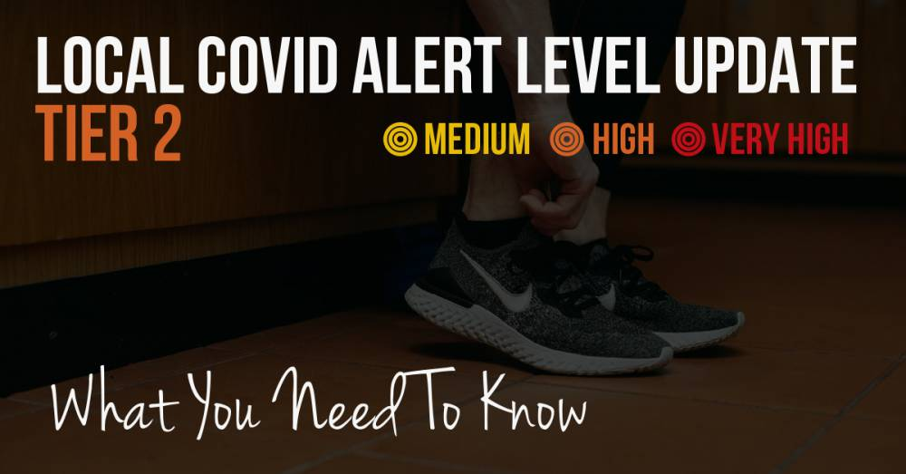 Tier 2 COVID Alert Level UPDATE - What You Need To Know