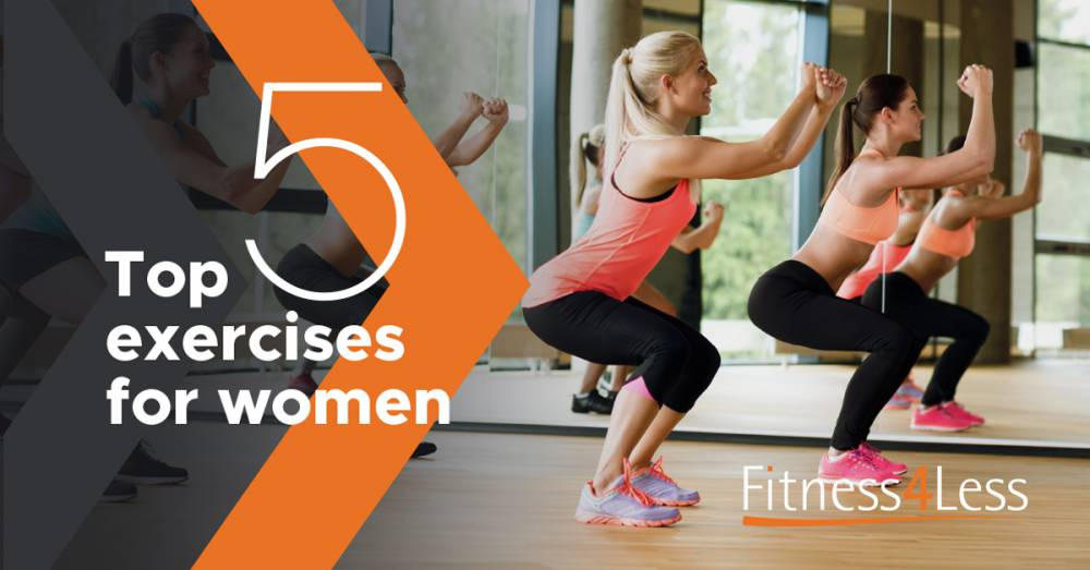 The 5 Most Important Exercises For Female Gym-Goers