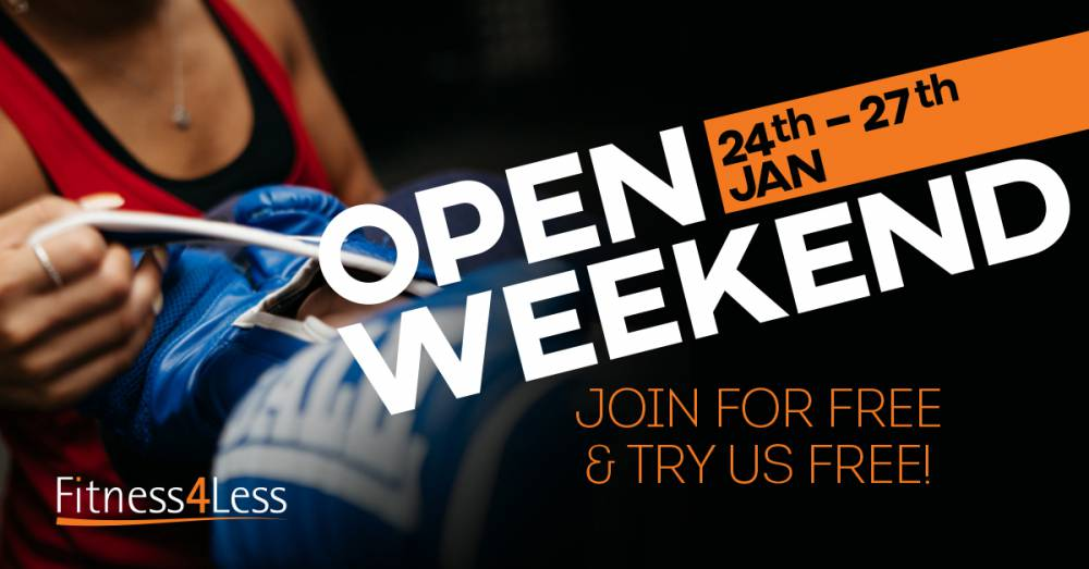 Join In Our Open Weekend And Get Fighting Fit In 2020!