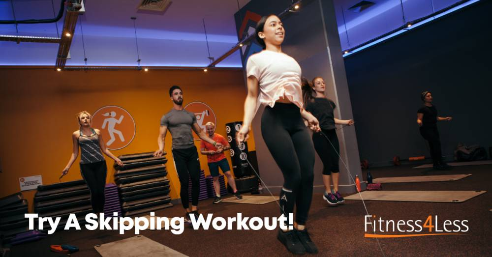Jump In! With Tom's Skipping Workout