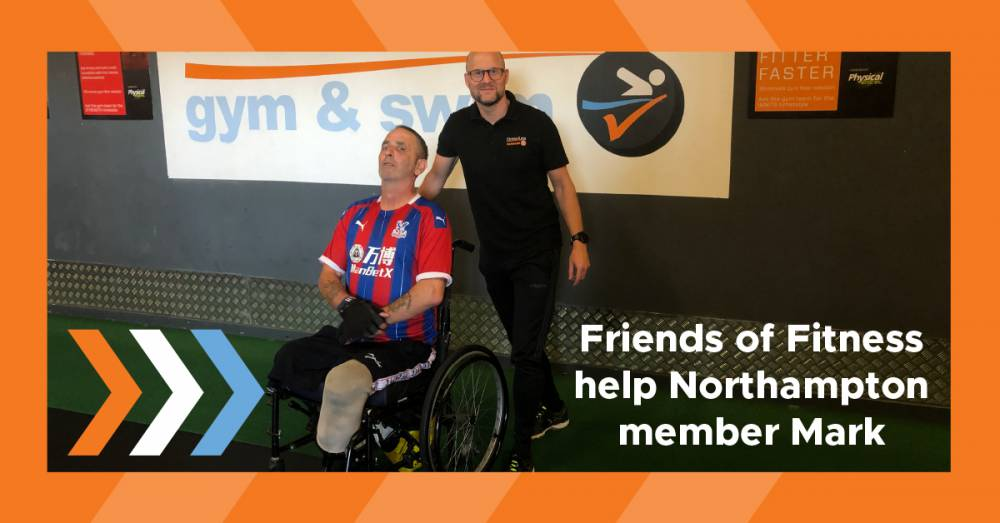 Friends of Fitness Helps Fitness4Less Northampton Member