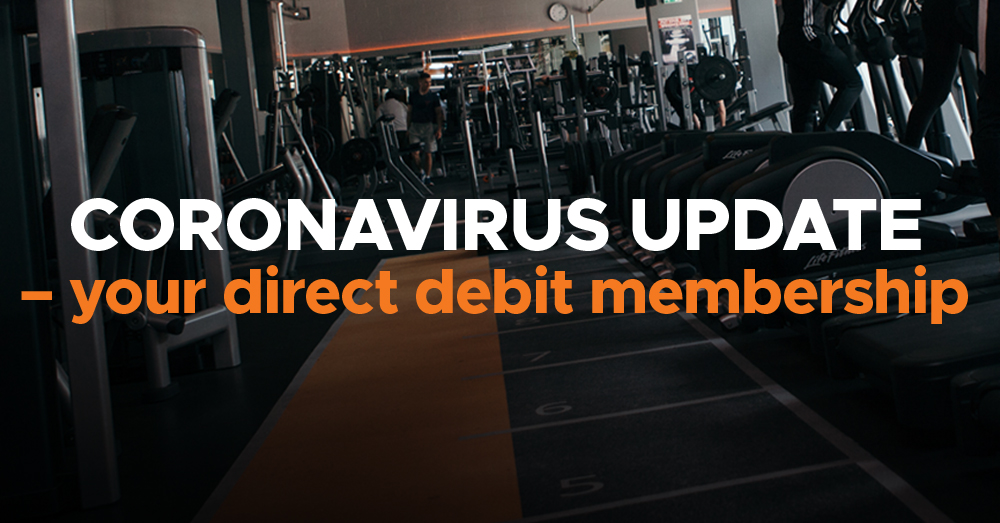 Members Update If You Have A Direct Debit Membership