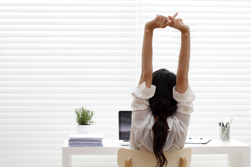 Easy Stretches At Your Desk