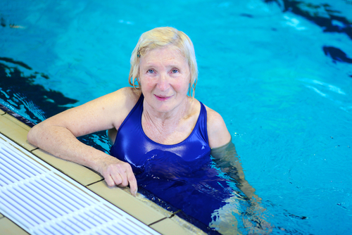 Making a splash - swimming as an aid to fitness for the over 60s