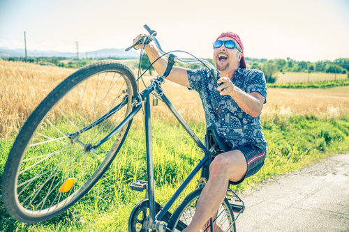 5 Reasons Why Getting On Your Bike Is Good For You!
