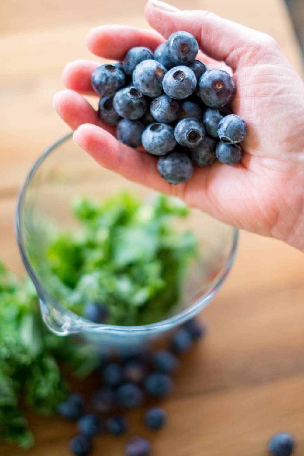 Super Food Packed Smoothie - Kale And Blueberry