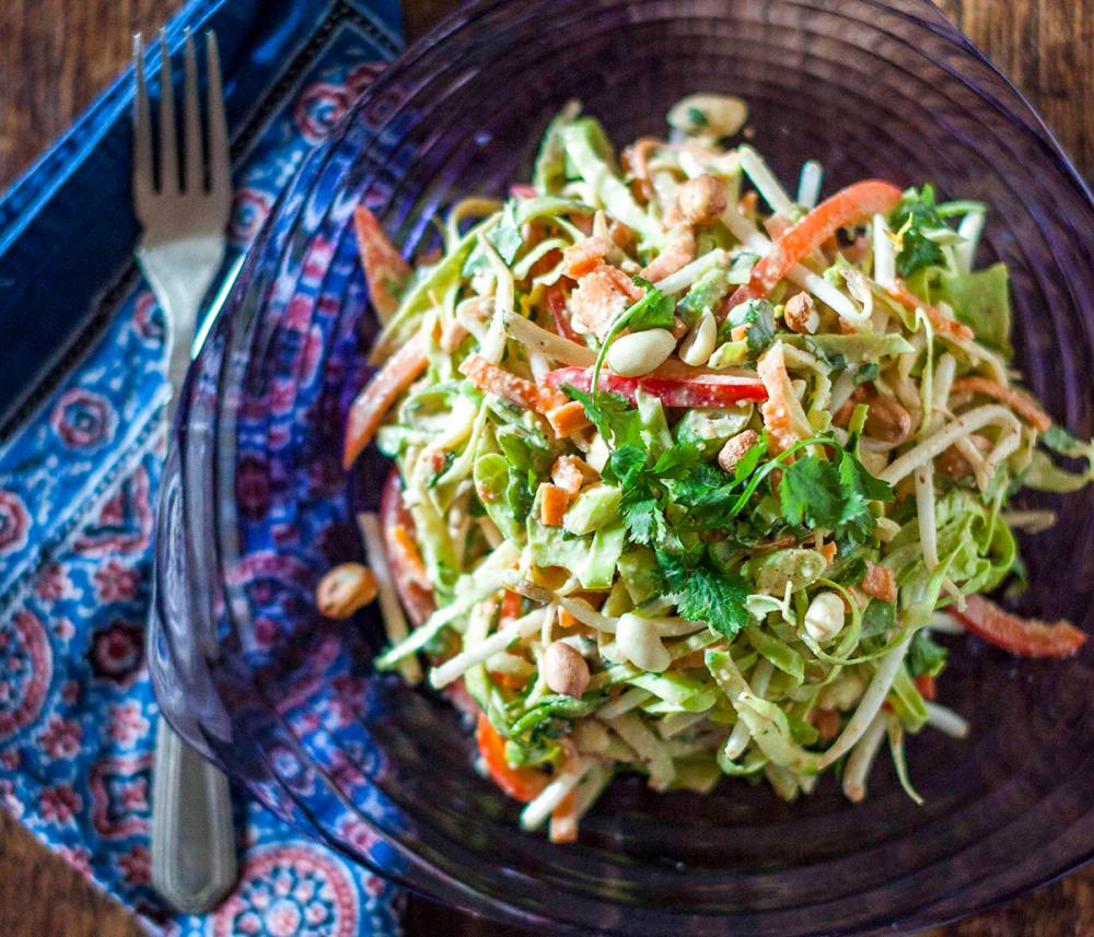 For A Detox Boost, Try Eating Raw - Sample Our Raw Pad Thai