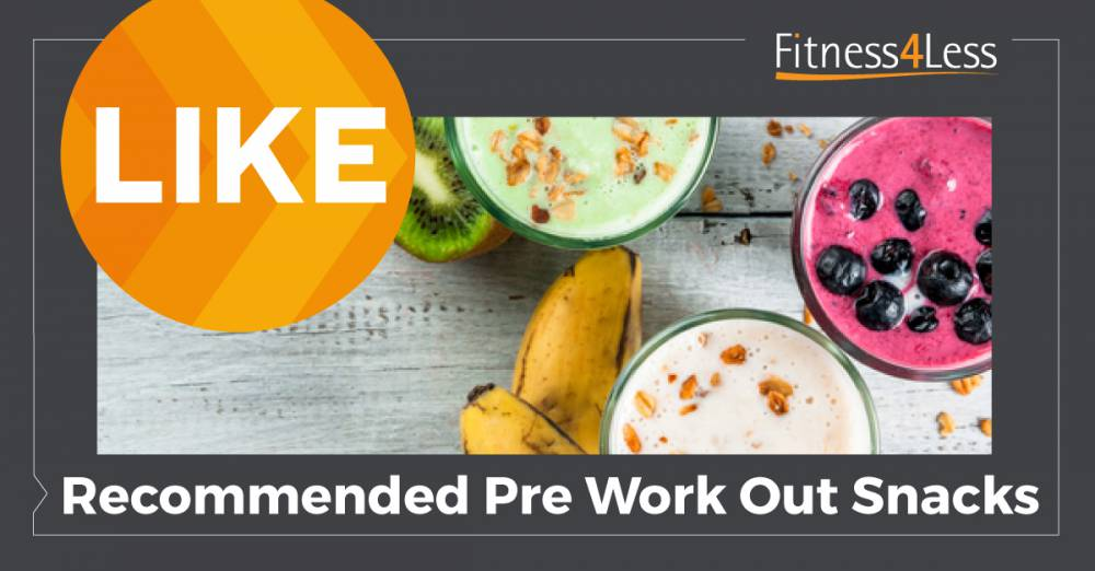 Quick & Easy Pre-Workout Snacks!