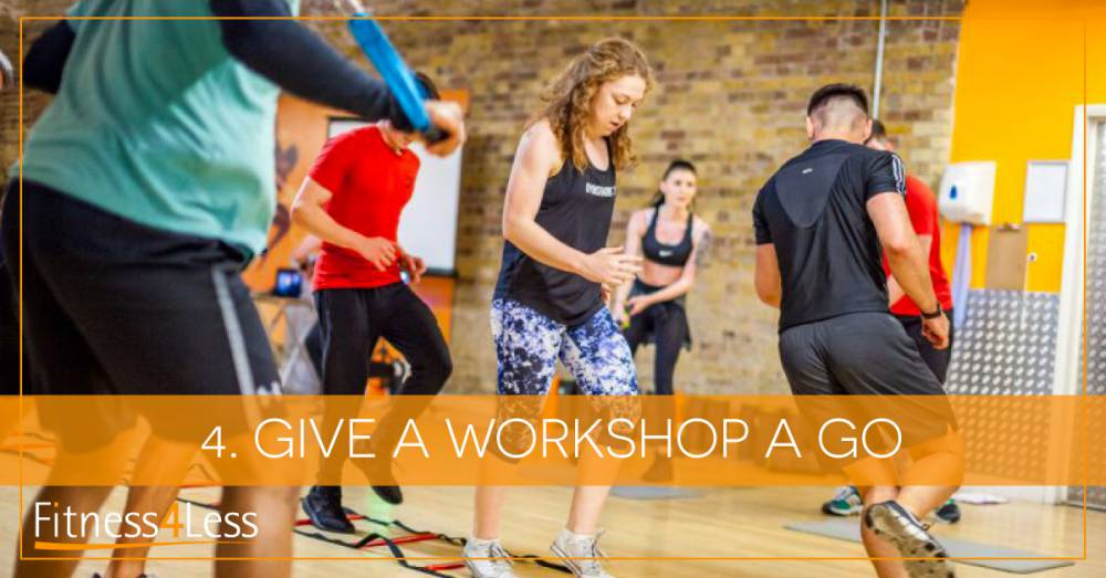 TASK 4: Book a Workshop As Part of the Join, Like, Learn Fitness Challenge