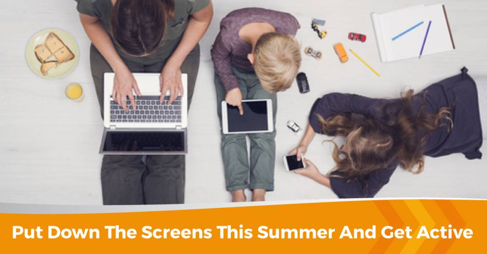 Luring The Kids Away From Screens This Summer!
