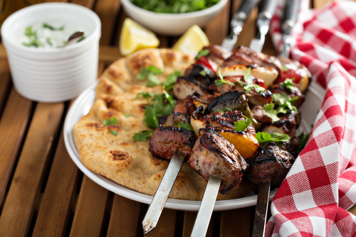 """Slip Another Shrimp on the Barbie""... Or A Simple Lamb Kebab"