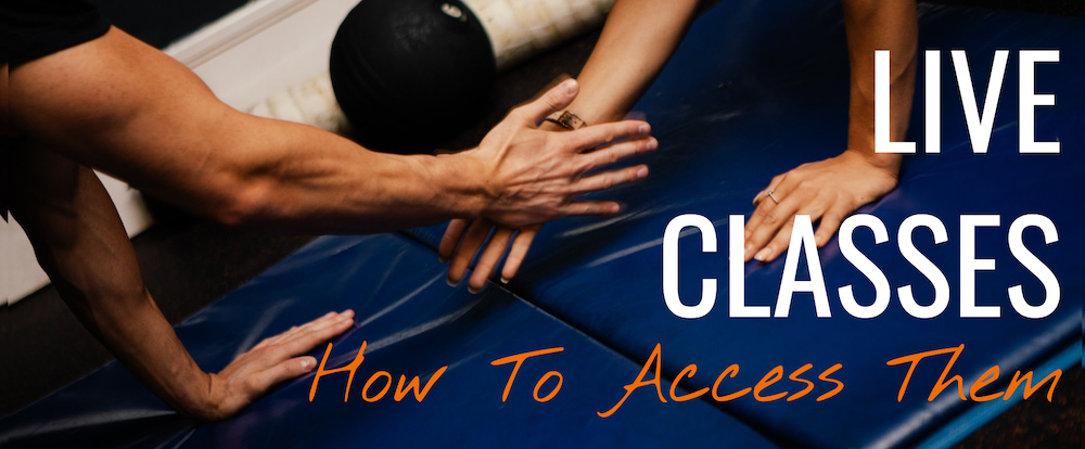 Accessing Our Live Classes - A Step By Step Guide