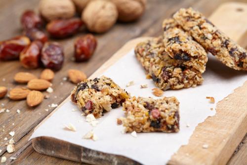 Healthier, No-Bake Granola Bars