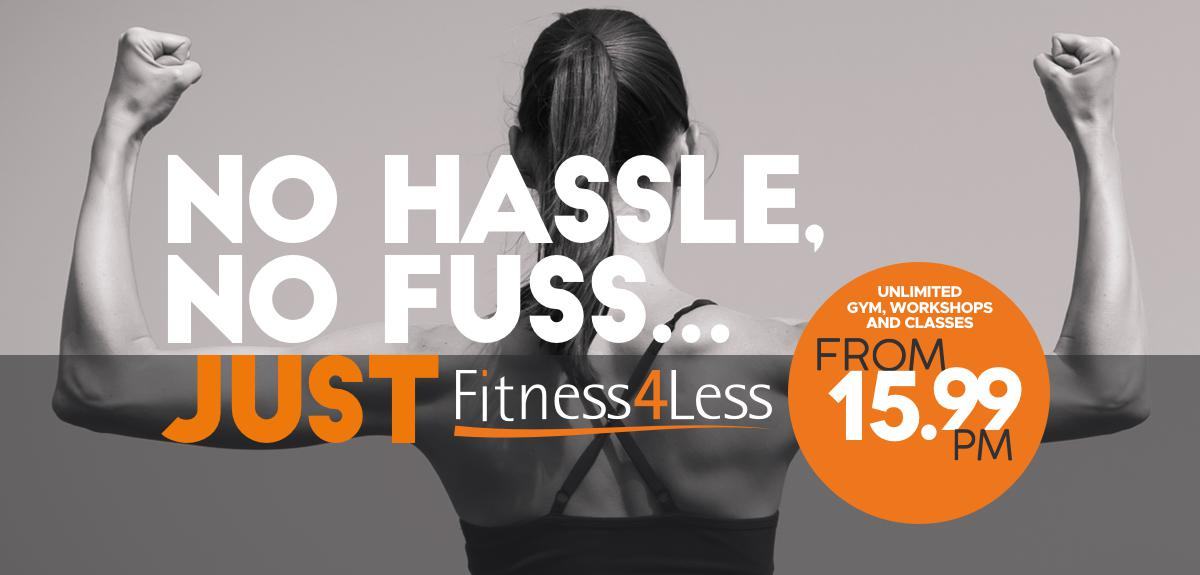 Join Fitness4Less Today