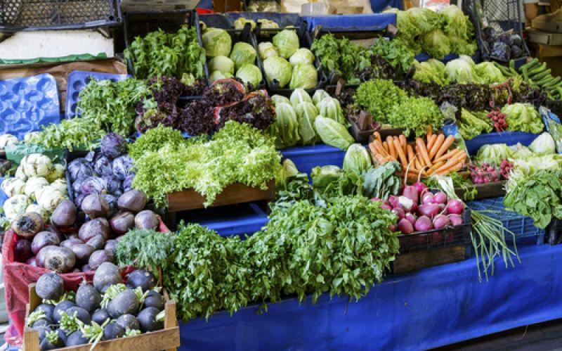Market for veg