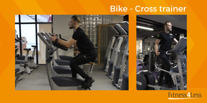 Bike and cross trainer